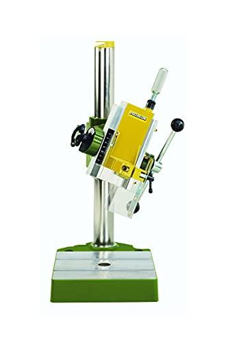 Proxxon Bohr- und Fräsbank BFB 2000 (Auslegerkopf 90° schwenkbar, 43 mm Spindelhals, lesbare Tiefenskala, stabiler Arbeitstisch) 20000
