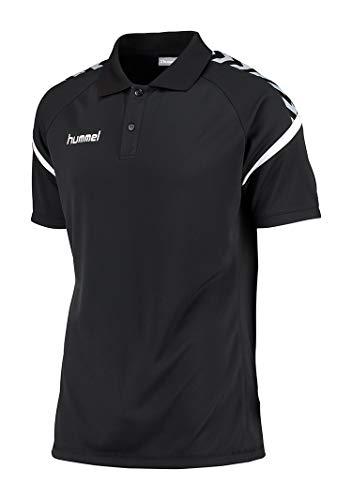 Hummel Herren AUTH. CHARGE FUNCTIONAL POLO Poloshirt, Schwarz, M
