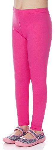 Merry Style Mädchen Lange Leggings aus Viskose MS10-130 (Rosa, 110)