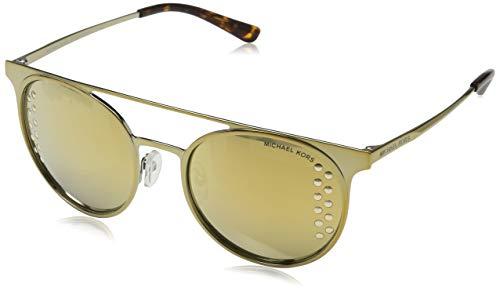 Michael Kors 11684Z Occhiali da sole, Oro (Shiny Pale Gold/Tone), 52 Donna