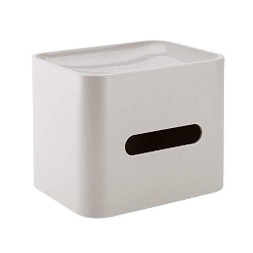 Suytan 1 Soporte de Servilleta para Papel, Caja de Pañuelos, Decoración de la Casa Del Coche, Adecuado para Encimeras de Dormitorio