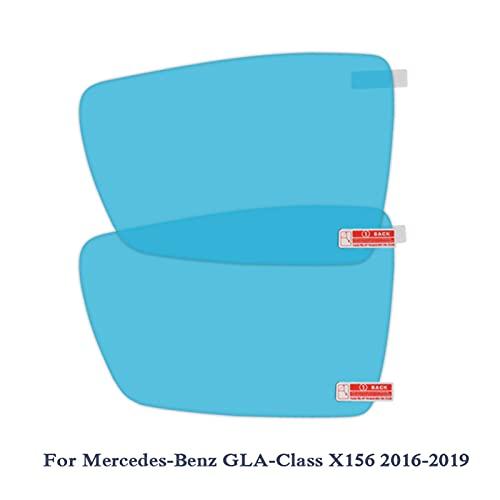 Shutters 2pcsanti Niebla Ventana de Coche Coche Coche Coche Retrovisor Espejo Protector de película Fit para Mercedes-Benz C/E/GLC/GLACLASS Etiqueta engomada a Prueba de Agua