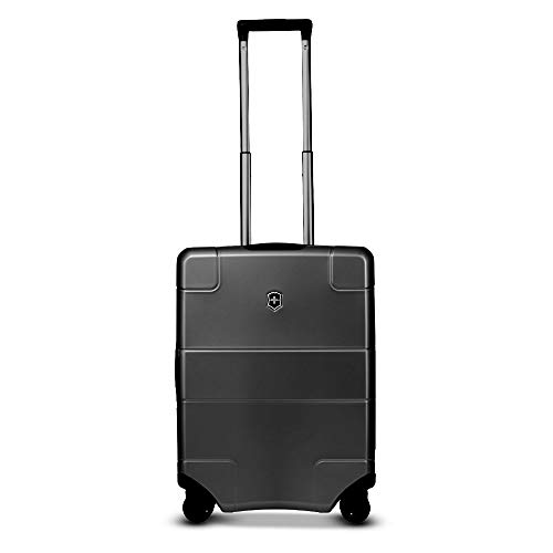 Victorinox Lexicon Hardside Expandable Spinner Luggage, Black, Checked-Medium (26')