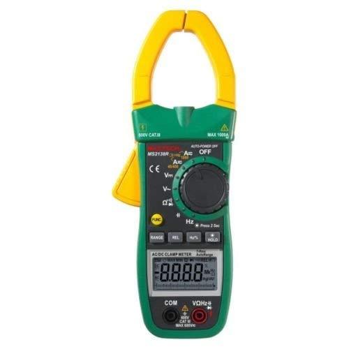 Mastech MS2138R - Multímetro digital profesional (4000 cuentas TRMS, autoajustables)