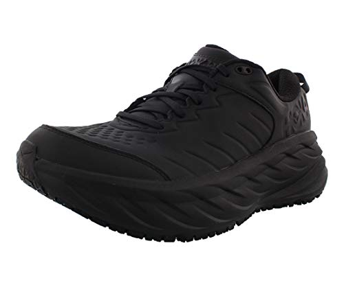 Hoka One Bondi SR Womens Shoes Size 11, Color: Black/Black