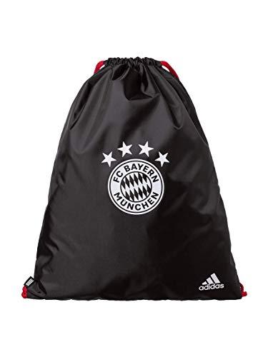 adidas FC Bayern Gymsack Sportbeutel, Black/Fcbtru/White, NS