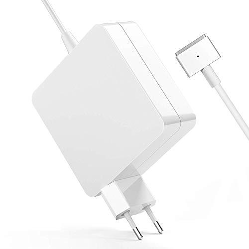 MacBook Pro Ladekabel,ZASUN Ladegerät MacBook, 85W Netzteil Notebook Magsafe (T) - funktioniert mit 45W / 60W / 85W MacBooks - 13 & 15 Zoll & 17 Zoll (2009/2010 / 2011/2012) (85W magsafe 2)