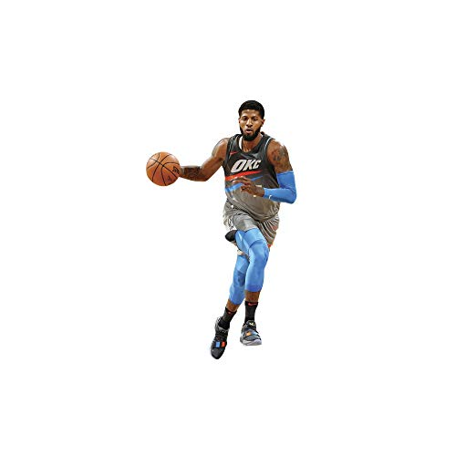 Fathead NBA Oklahoma City Thunder Paul George: City Jersey - Life-Size Officially Licensed NBA Removable Wall Decal