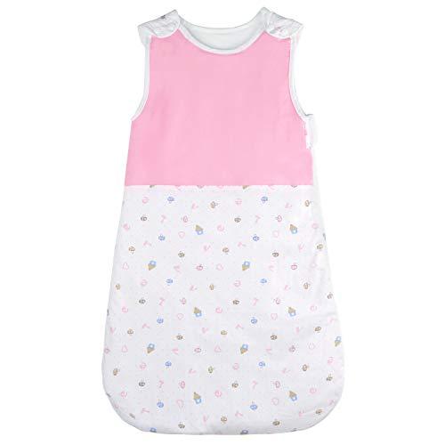 Viedouce BabyViedouce Baby Schlafsäcke,Schlafsack Baby Bio-Baumwolle, Waschbar Kleinkindschlafsack, Ganzjahres Babyschlafsack 2,5 TOG,Größe 80cm für Neugeborene 3-18 Monate