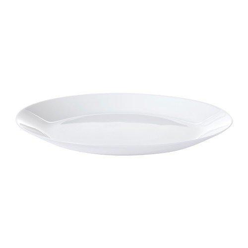 IKEA OFTAST - Platte, weiß - 25 cm