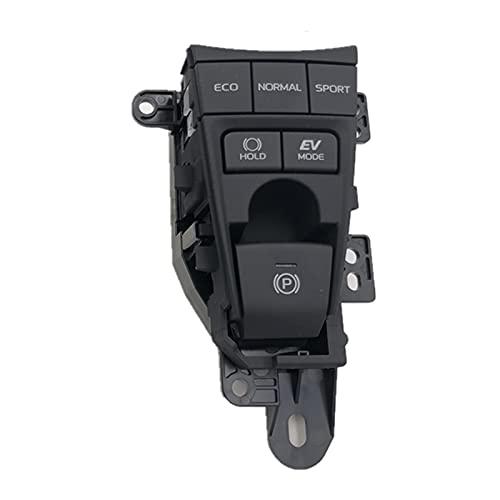 binbin Electronic Handbrake Switch Aparcamiento Mano Freno Hold Fit para Toyota Camry Avalon 2018 2019 XV70 V70 (Color : Black)