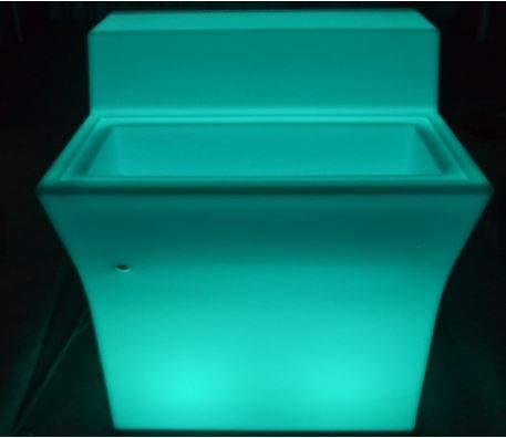 LuxArredi.com Bancone LED 90 cm Luminoso Bar Lampada portagliaccio arredi Luminosi Pub Catering Batteria Ricaricabile Litio