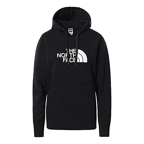 THE NORTH FACE Drew Peak - Sudadera con capucha para mujer, color negro, talla S