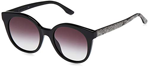 Preisvergleich Produktbild Hugo Boss BOSS0890S-UI59O-51 HUGO BOSS Sonnenbrille BOSS0890S-UI59O-51 Rund Sonnenbrille 51,  Schwarz