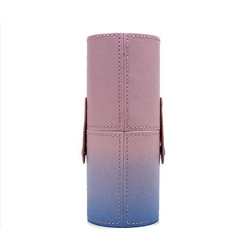Ttiy Boîte de rangement cylindrique pour pinceaux de maquillage