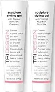 TriDesign Tri Sculpture Styling Gel with Topical Nutrition Complex, 6.0 Oz. / 199 g each (2 Ct.)