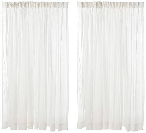 """Stylemaster Splendor Pinch Pleated Drapes Pair, 2 of 72"""" by 84"""", Beige"""