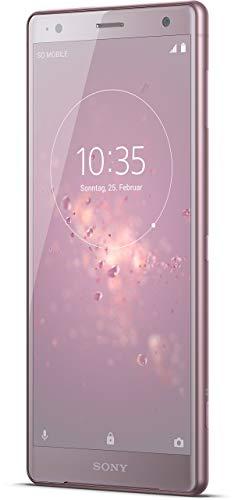 Sony Xperia XZ2 Smartphone (14,5 cm (5,7 Zoll) IPS Full HD+ Display, 64 GB interner Speicher und 4 GB RAM, Dual-SIM, IP68, Android 8.0) Ash Pink - Deutsche Version