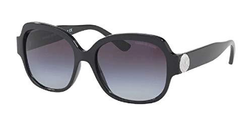 MK2055 317711 Black/Grey Gradient Square Sunglasses for Women + FREE Complimentary Eyewear Kit
