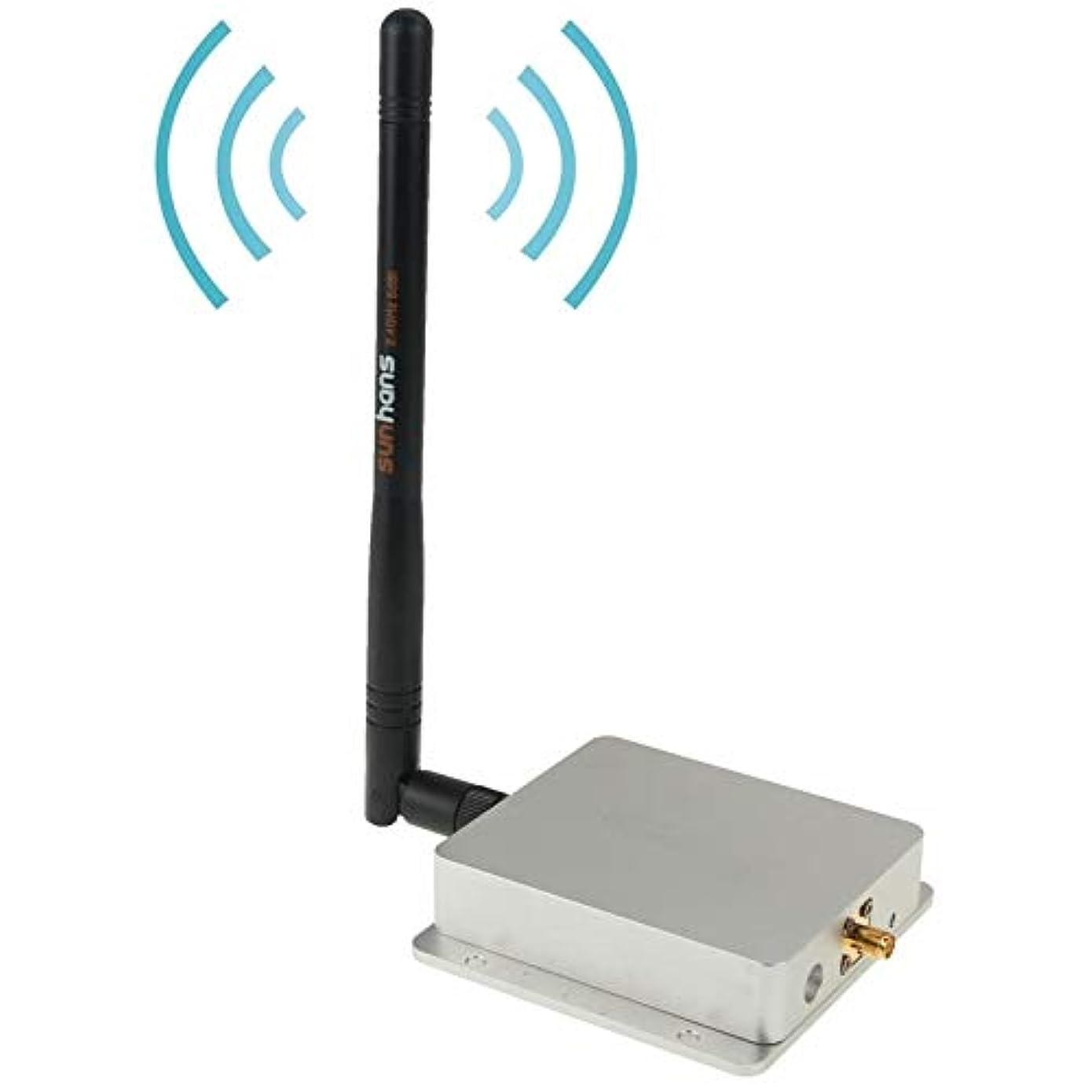 控えめな履歴書ローズコンピューターケーブル 2.4Ghz インドア WiFi ハイパワーシグナルブースターアンプ 802.11 b/g/n (SH24Gi4000) ネットワークケーブル