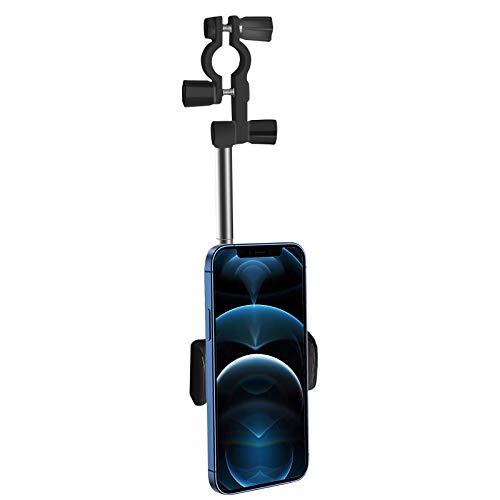 Autotelefonhalter Handyhalterung Auto 360 Grad drehbarer Auto-Rückspiegel Telefonhalter Auto Vent Halterung Auto Handyhalterung Kfz Handy Halterung Amaturenbrett...