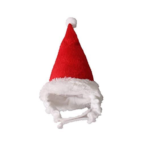 User Pet Santa Claus Hat Small Animals Rabbit Cute Christmas Cap