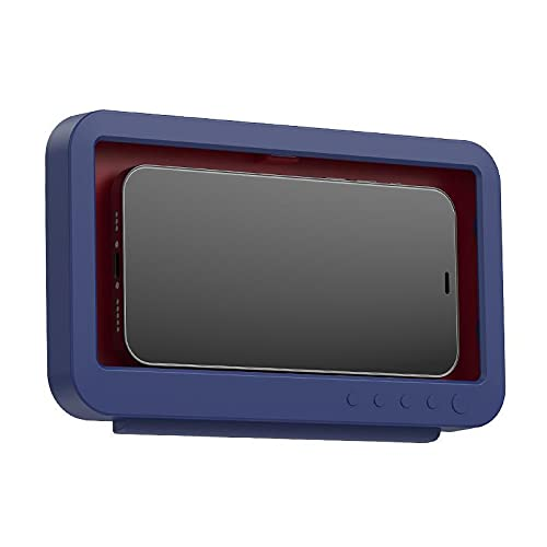 Akemaio Soporte de pared para teléfono de ducha, resistente al agua, soporte para teléfono de baño, pantalla táctil giratoria, caja para teléfono móvil