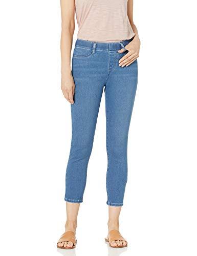 Amazon Essentials Pull-On Knit Capri Jegging Pantaloni, Lavaggio Leggero, L