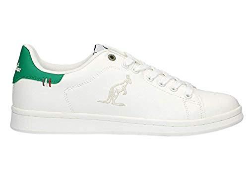 Australian AU436 117 off White Green Bianco Verde Sneaker Ginnastica Donna Woman (37 EU)