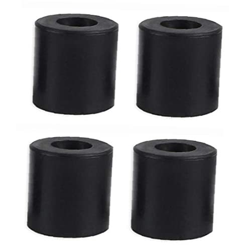 3D Printer Hot Bed Column Heatbed Silicone Leveling Column Heat-Resistant Stable Black Mounts Column Tools Accessaries 4 PCS, for Home Office