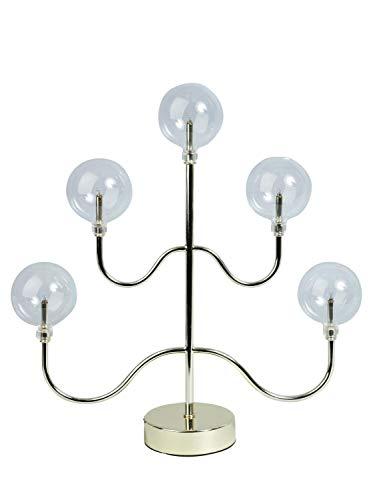 Adventsljusstake Lampa Boll metall/glas