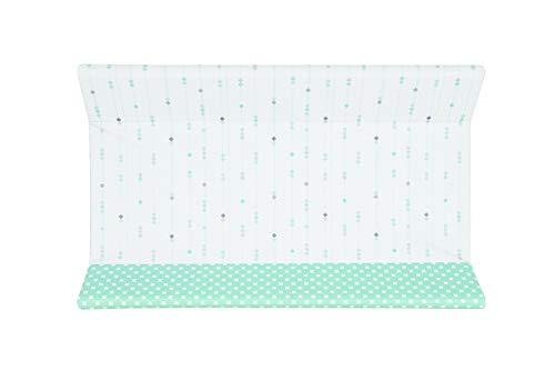 Brevi Confort, Materassino fasciatoio, Multicolore (Tiffany), 45 x 74 x 10 cm, Collezione 2020