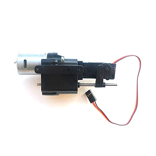 MaxMetal WPL Upgraded 2 Speed Gearbox with Shift Servo Spare Part fo WPL B14 B16 B24 B36 C14 C24 Remote Control Truck