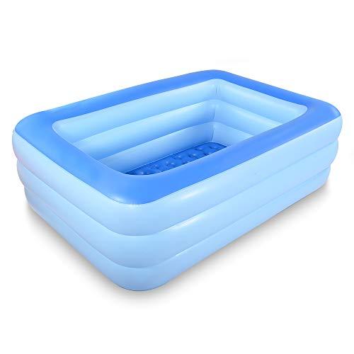 HIWENA Inflatable Family Swim Play Center Pool, 83