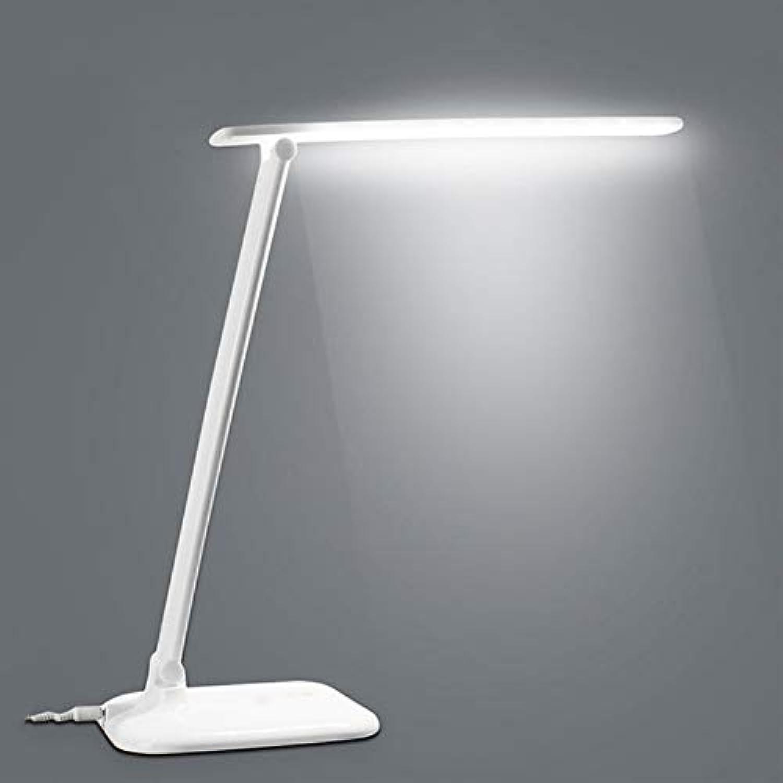 JYTD Tischleuchte 7 Watt 30 Led Klapplampe Ac Lade Büro Schreibtischlampe Led Dimmable Touch Sensor Tischlampe Für Schulkinder Ausbildung