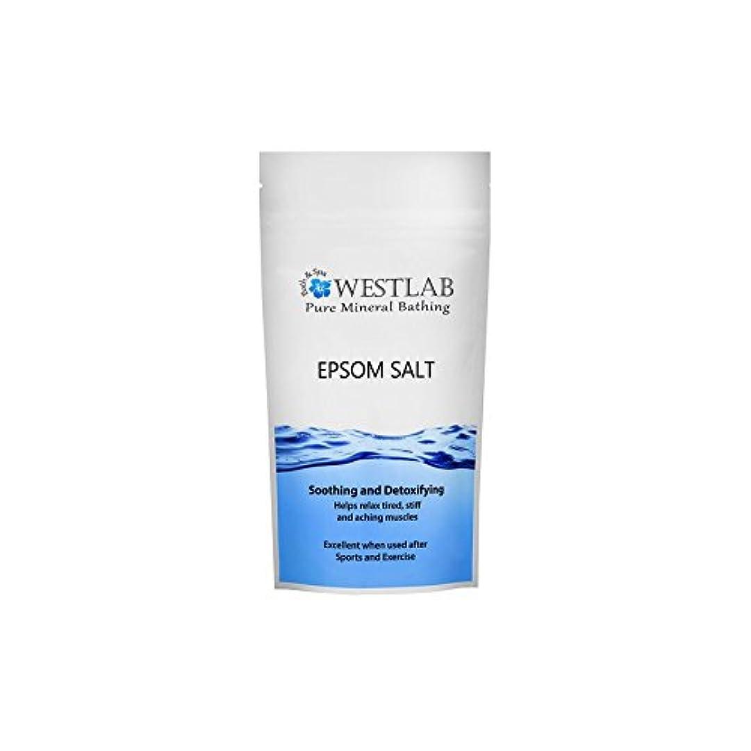 フィットネスお願いします受取人エプソム塩の2キロ x2 - Westlab Epsom Salt 2kg (Pack of 2) [並行輸入品]