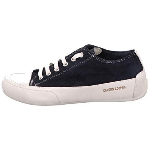 Candice Cooper Sneaker, Rock Glatt Leder/Velour Blau Damen Schuhe > Damen Sneaker > Damen Sneaker Low Größe 36