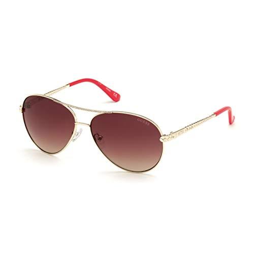 Guess gafas de sol GU7470-S 32T de Oro de burdeos tamaño de 60 mm de Mujer