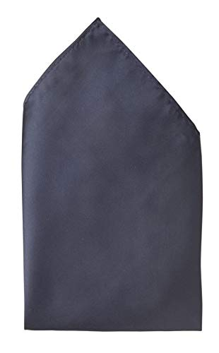 Fabio Farini - Cravates, nœuds papillons et mouchoirs attrayants et élégants pour la robe à cravate noire code noir mouchoir noir bleu foncé