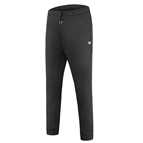 WHCREAT Heren Sport Joggingbroek met Ritszakken