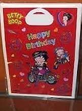 Betty Boop Happy Birthday Loot Bags