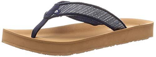 Minnetonka Damen Hedy Flip Flop Sandalen, (Blauer Medina-Streifen), 42 EU