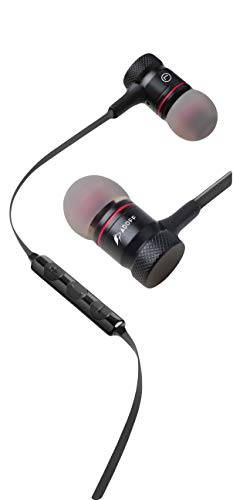 ADOFF ADF01 Hi Fi in-Ear Extra Bass Headphones with Mic, Earphones with Microphone (Black)