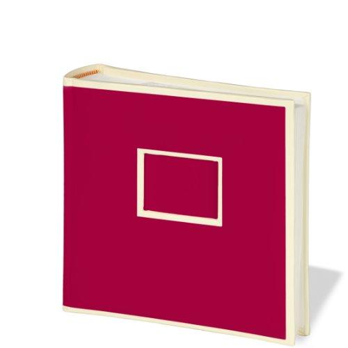Semikolon (351134) 200 Pocket burgundy (dunkel-rot) - Fotoalbum/Fotobuch mit Einschubtaschen für 200 Bilder im Format 10x15 cm - 2 Bilder pro Seite