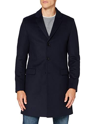 HUGO Migor2041 Cappotto, Blu Scuro (405), 62 Uomo