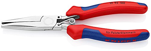 KNIPEX 91 92 180 Alicates grapas tapicería