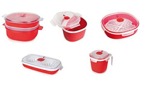 Snips Tempo Zero-Caja de Regalo (5 Piezas), Rojo, 5pc Set