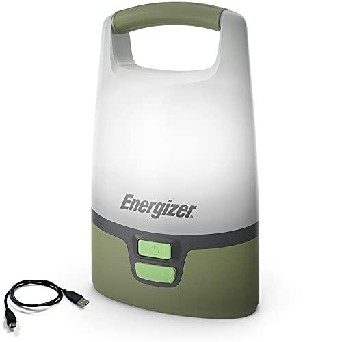 Energizer Vision LED Camping Lantern, IPX4 Water Resistant, Super Bright Tent Light, Rugged Lantern Flashlight for Hurricane, Emergency, Survival Kits, Hiking, Fishing, Home