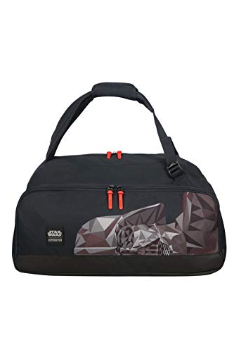 American tourister - Disney Grab'N'Go - Star Wars Backpack/Duffle Bag Gym Tote, 54 cm, 49 liters, Multicolour (Darth Vader Geometric)
