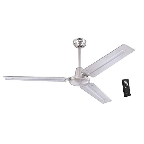 Westinghouse Lighting 7238100 Jax, Modern Industrial Style Ceiling Fan with Remote...